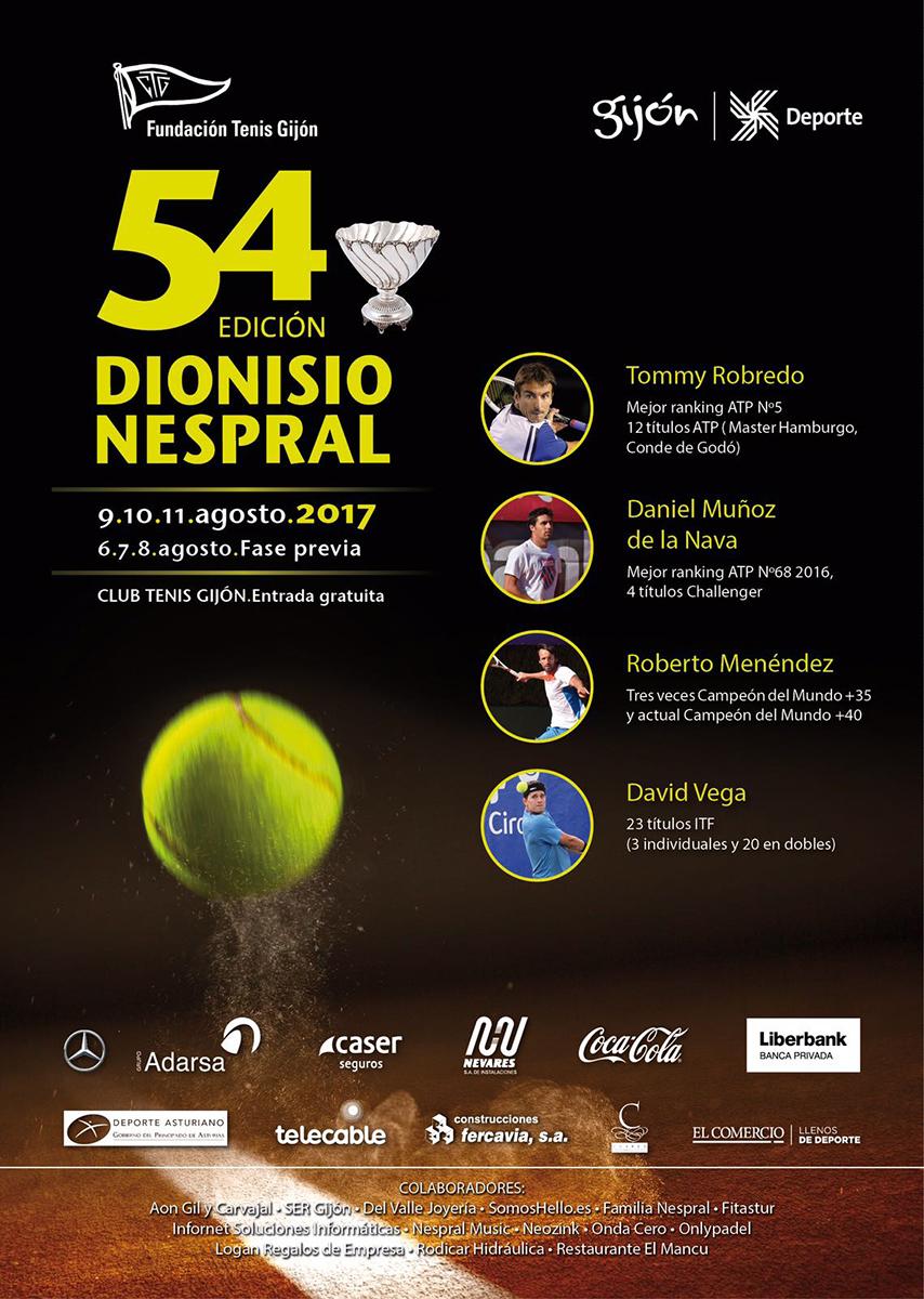 Cartel Torneo Dionisio Nespral 17