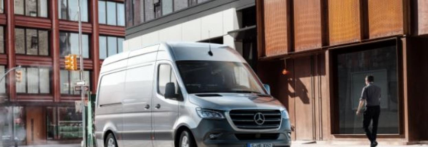 La nueva Sprinter de Mercedes-Benz.