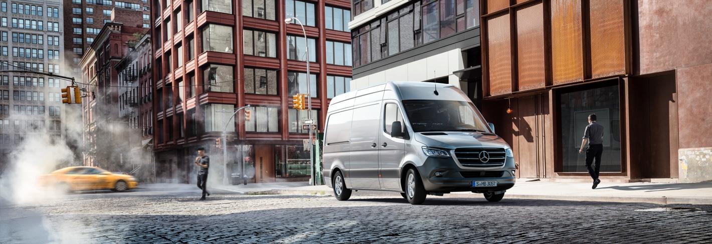 La nueva Mercedes Sprinter ha llegado a Adarsa